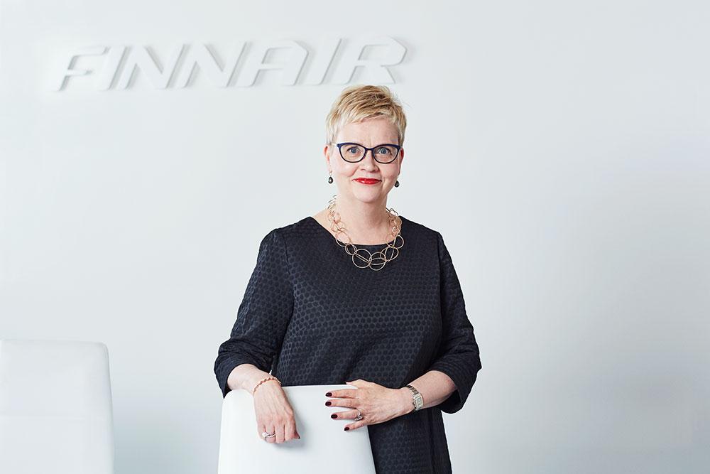 Arja Suominen, Finnair