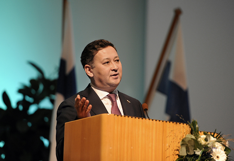 Murat Nurtleuov, Embassy of Kazakhstan to Finland