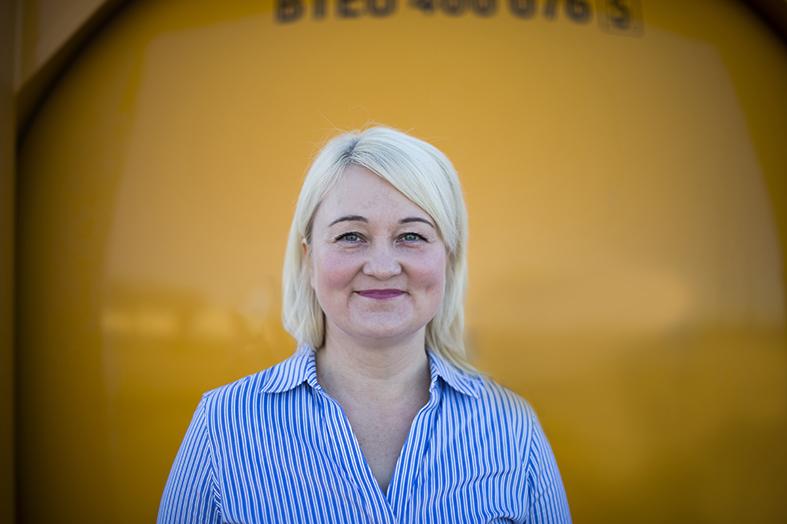 Anu Kujansuu, Kouvola Cargo Handling Oy